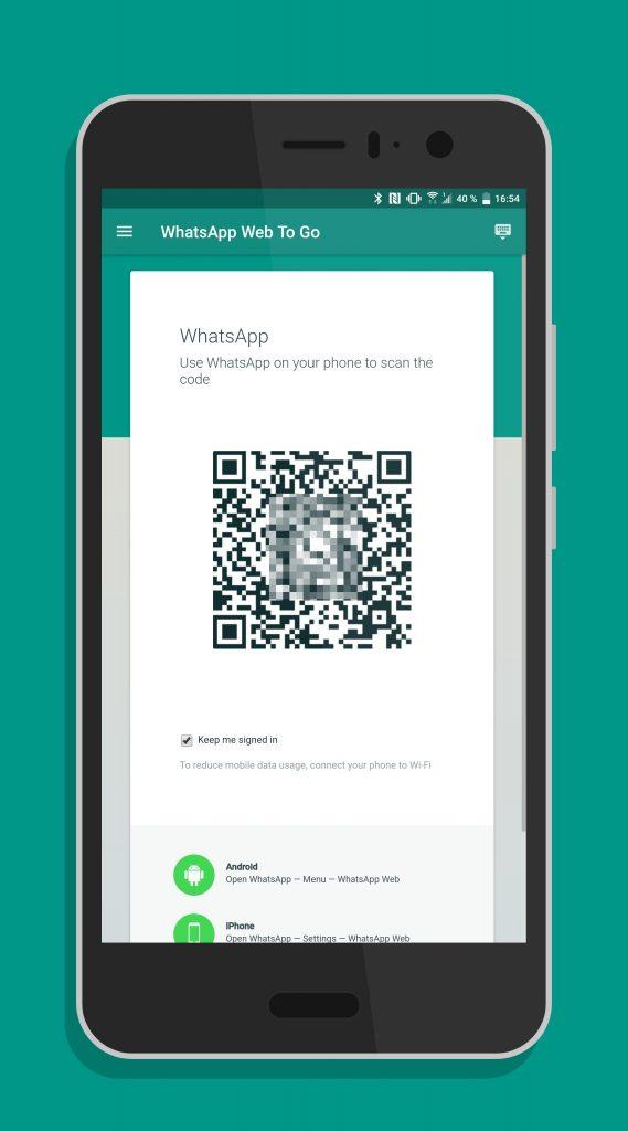 Mobile Klien for WhatsApp Web