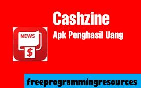 Review Aplikasi Cashzine